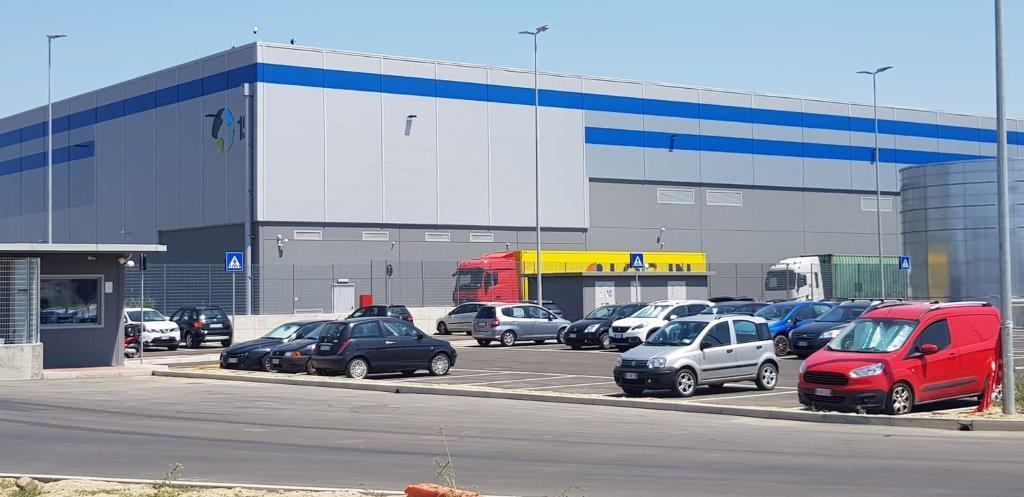 Realizzazione Logistica Logista Bologna Interporto